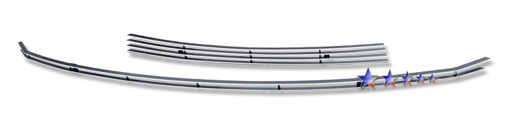 Hyundai Accent  2009-2011 Polished Lower Bumper Aluminum Billet Grille