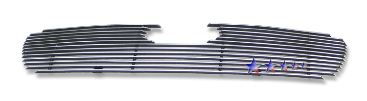Hyundai Accent  2009-2011 Polished Main Upper Aluminum Billet Grille