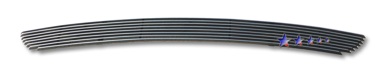 Hyundai Sonata  2009-2010 Polished Lower Bumper Aluminum Billet Grille