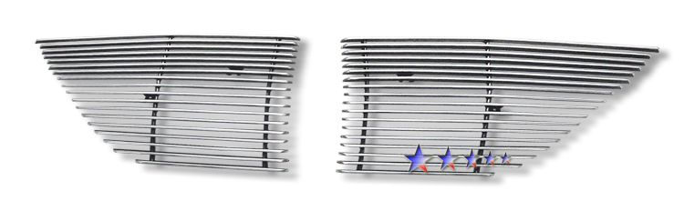 Hyundai Genesis  2009-2011 Polished Main Upper Aluminum Billet Grille