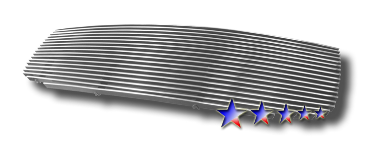 Hyundai Sonata  2002-2005 Polished Main Upper Aluminum Billet Grille