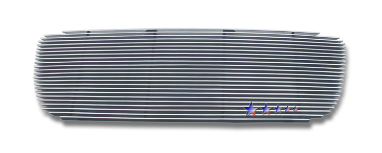 Hyundai Santa Fe  2007-2009 Polished Main Upper Aluminum Billet Grille