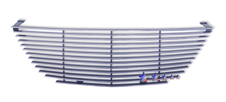 Hyundai Sonata  2009-2010 Polished Main Upper Aluminum Billet Grille