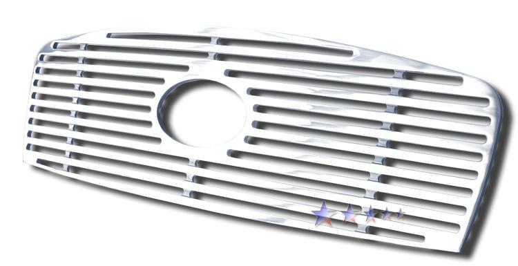 Hyundai Sonata  2002-2005 Polished Main Upper Perimeter Grille