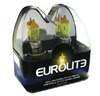 H4 Yellow JDM Headlight Bulbs by Eurolite