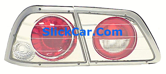 Nissan Maxima 97-99 Altezza Style Clear Tail lights