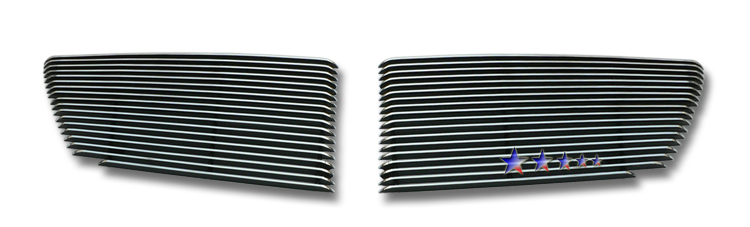 Mercedes Benz S550  2007-2011 Polished Main Upper Aluminum Billet Grille