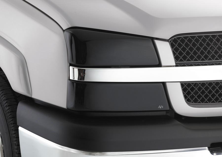 Chevrolet Trailblazer 2002-2009 Smoked Headlight Covers by ...